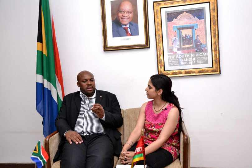 South Africa Interview ( Mr. Malose William Mogale, Deputy Head of Mission)