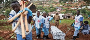 Ebola Prevention Milestone Vaccine: Four African Regions