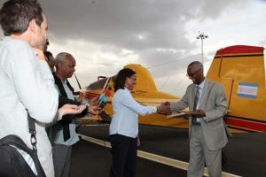 FAO leases aircraft for Ethiopian desert locust control