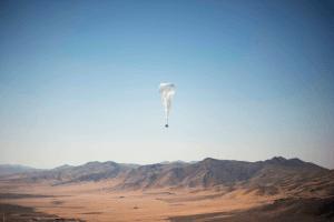Kenya internet connectivity balloon