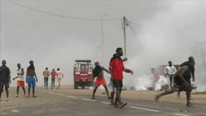riots in Cameroon
