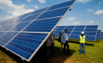 Solar panels installed in Rwamagana District