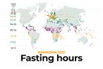 Ramadan 2021: Fasting hours around the world