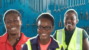 Female engineers behind Ghana's solar cars