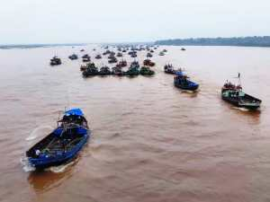 Illegal sand mining resumes from Son river, there is no fear of administration among businessmen