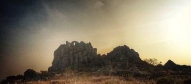 Roch Rock in the early light