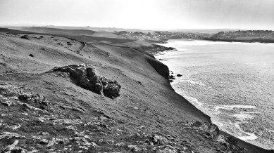 Looking back to Polzeath
