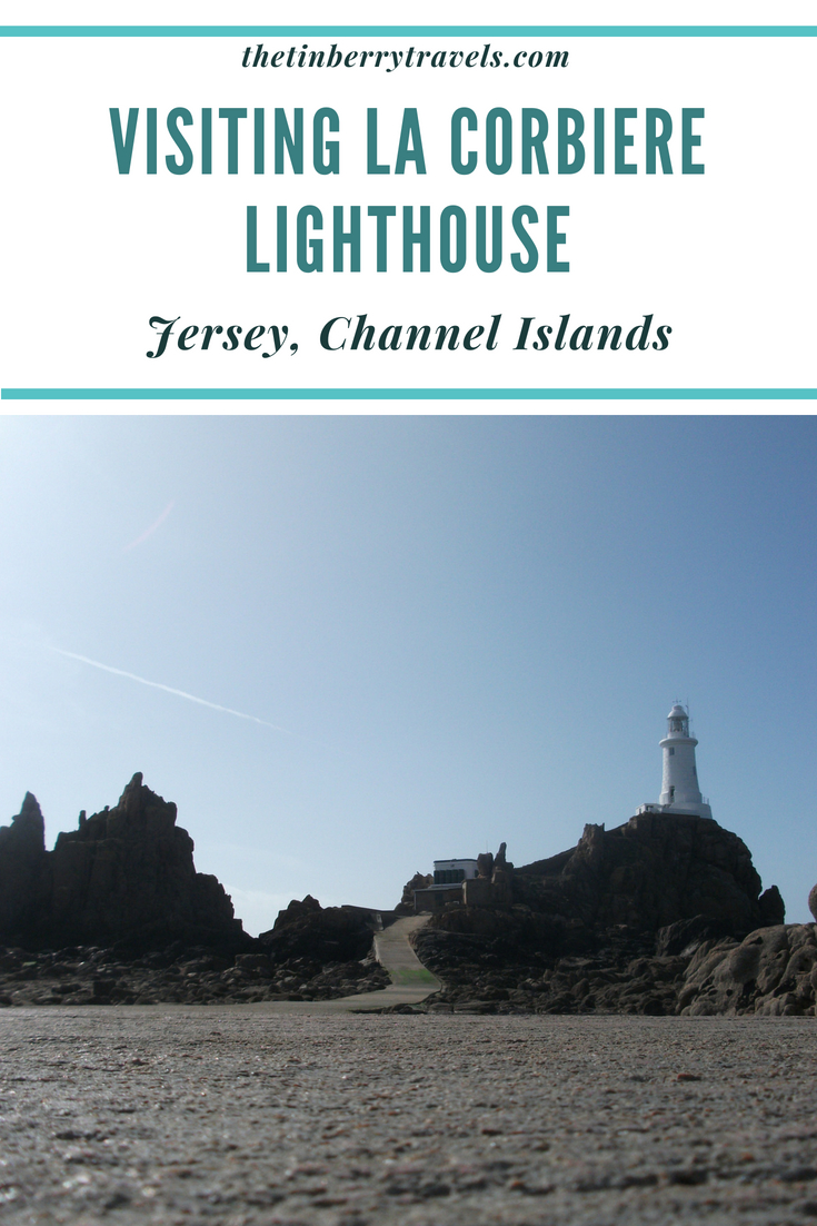 La Corbiere Lighthouse is Jersey's most iconic spot and one of the top things to see in Jersey. Find out more about my time here. | Things to do in Jersey | Channel Islands | #Jersey #VisitJersey