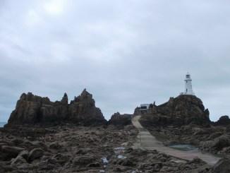 Visiting La Corbiere Lighthouse Jersey