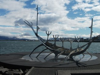 A Self guided walk along the front including to Sun Voyager is a free activity in Reykjavik, Iceland