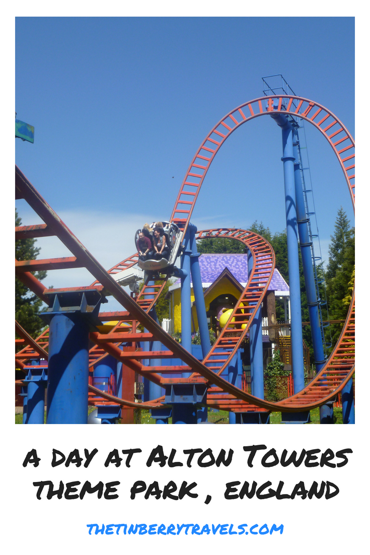 Thinking of a visit to Alton Towers Theme Park? Here's our guide to a day at Alton Towers in off season. | Day Trips in England | #Staffordshire #England #Europe