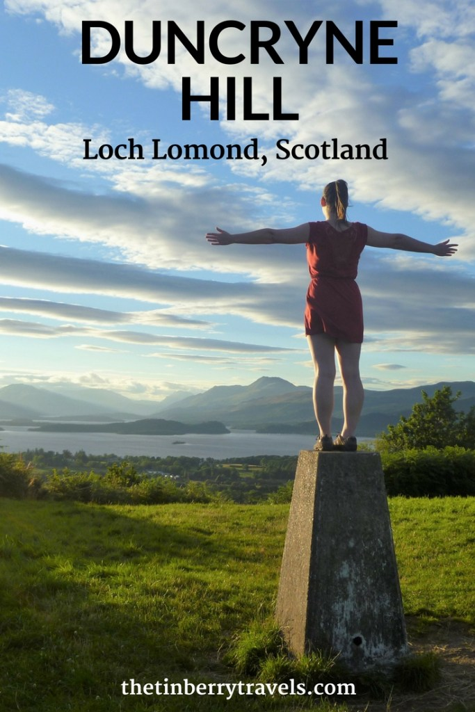 The best views in Loch Lomond and the Trossachs National Park! In celebration of National Parks Week we decided to climb Duncryne Hill for a view over Loch Lomond and the Trossachs and our trip did not disappoint! #DayTrip #AmazingViews #Scotland