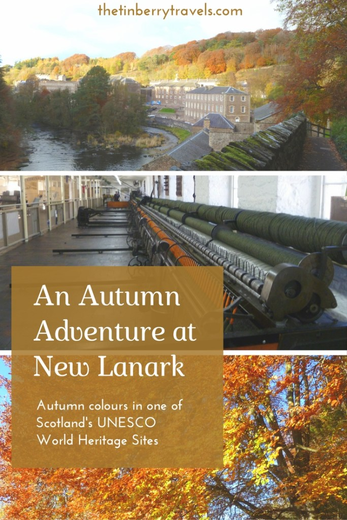An Autumn Adventure at New Lanark - Where to go in this Autumn? Our destination, former childhood school trip favourite and a UNESCO World Heritage site - New Lanark in South Lanarkshire