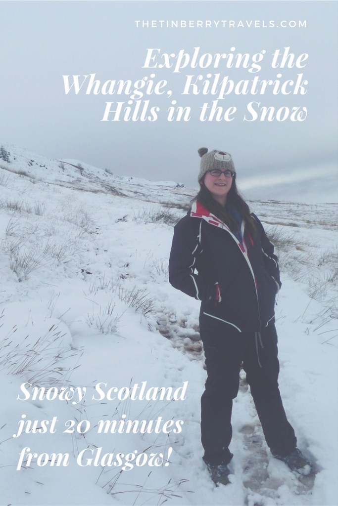 Exploring the Whangie, Kilpatrick Hills in the Snow - The fun of exploring the Whangie Walk during the winter and finding thick snow only 20 minutes from Glasgow, Scotland