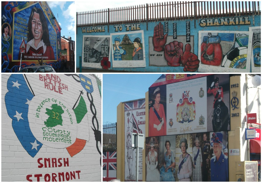 Examples Loyalist Unionist and Republican Nationalist Murals