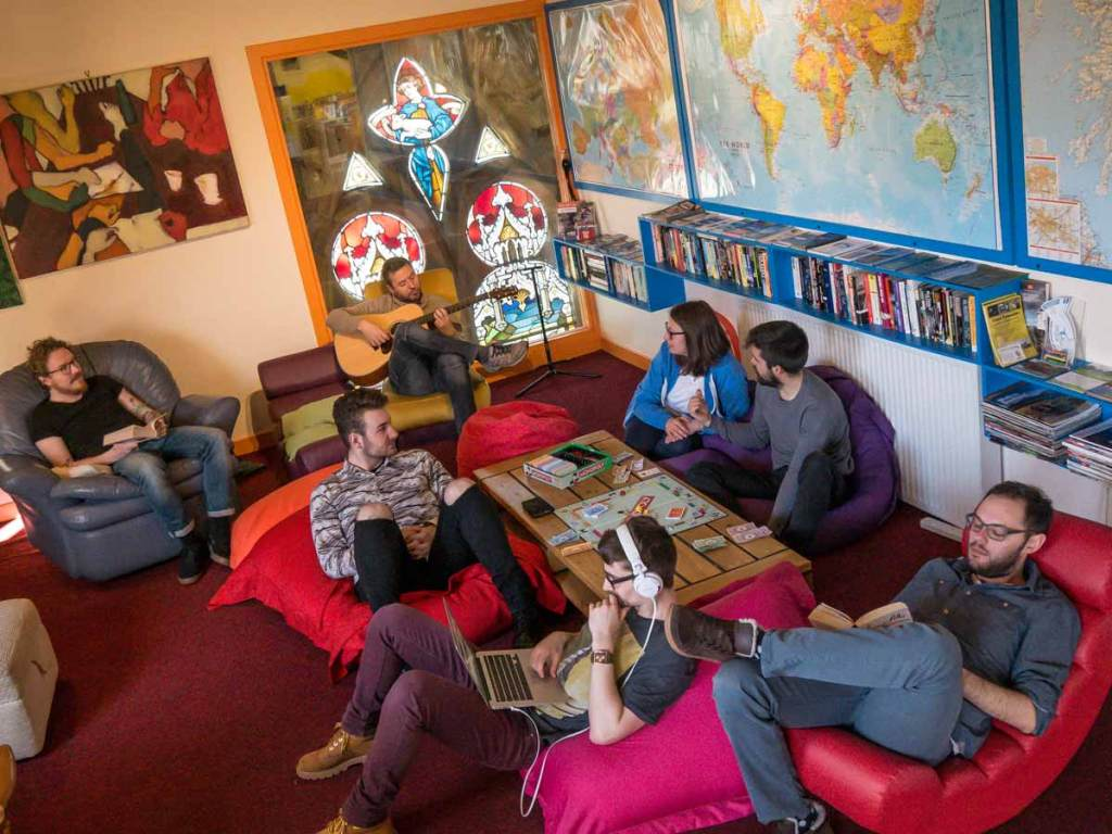Oban Backpackers Common Room