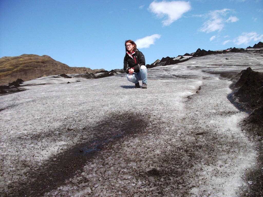 Sölheimajökull glacier on the South Coast of Iceland