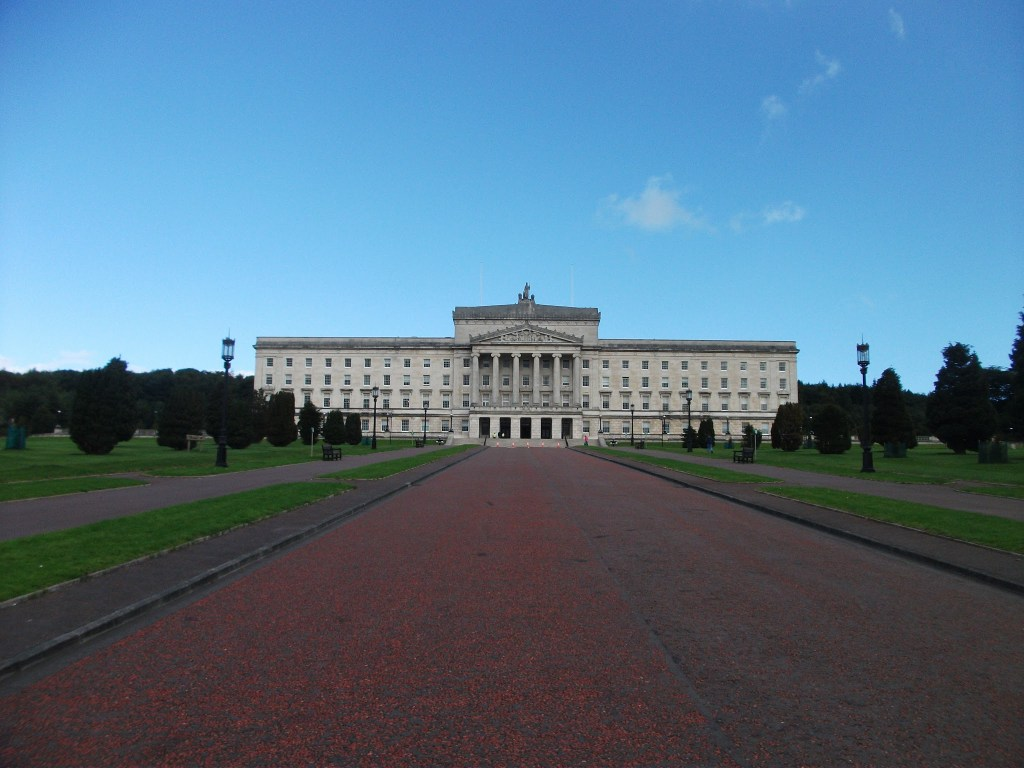 Stormont , Northern Ireland's Parliament Buildings in Belfast