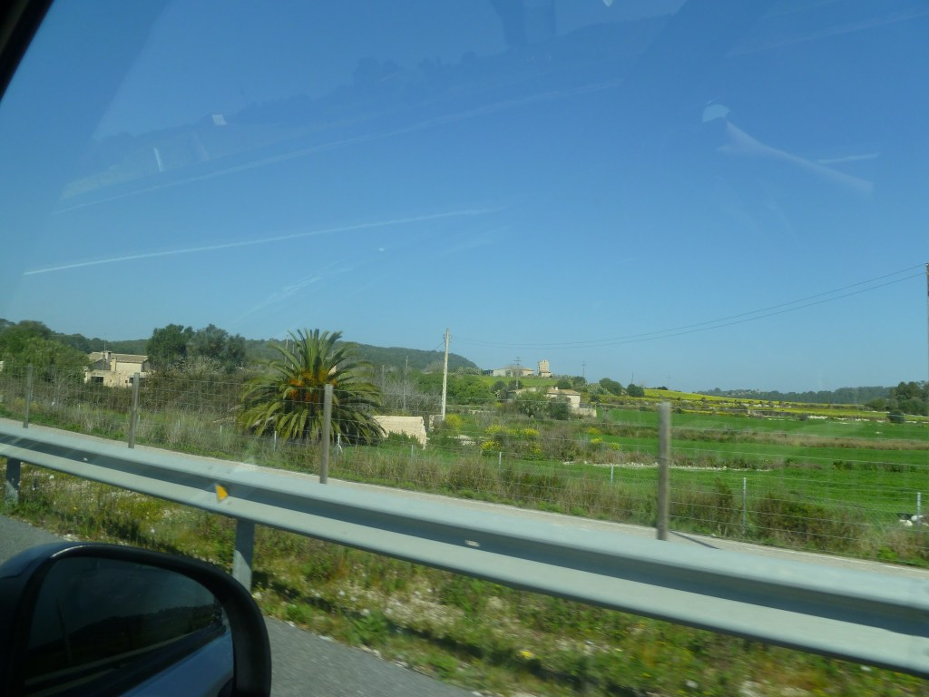 Driving in Mallorca (Majorca), Spain