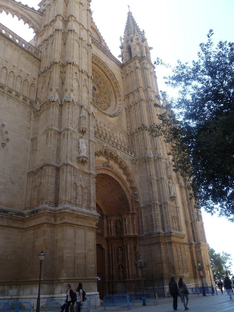 La Seu Cathedral or Palma Cathedral in Palma de Mallorca