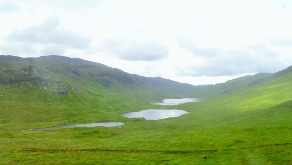 Three Lochs of Glen More, Mull