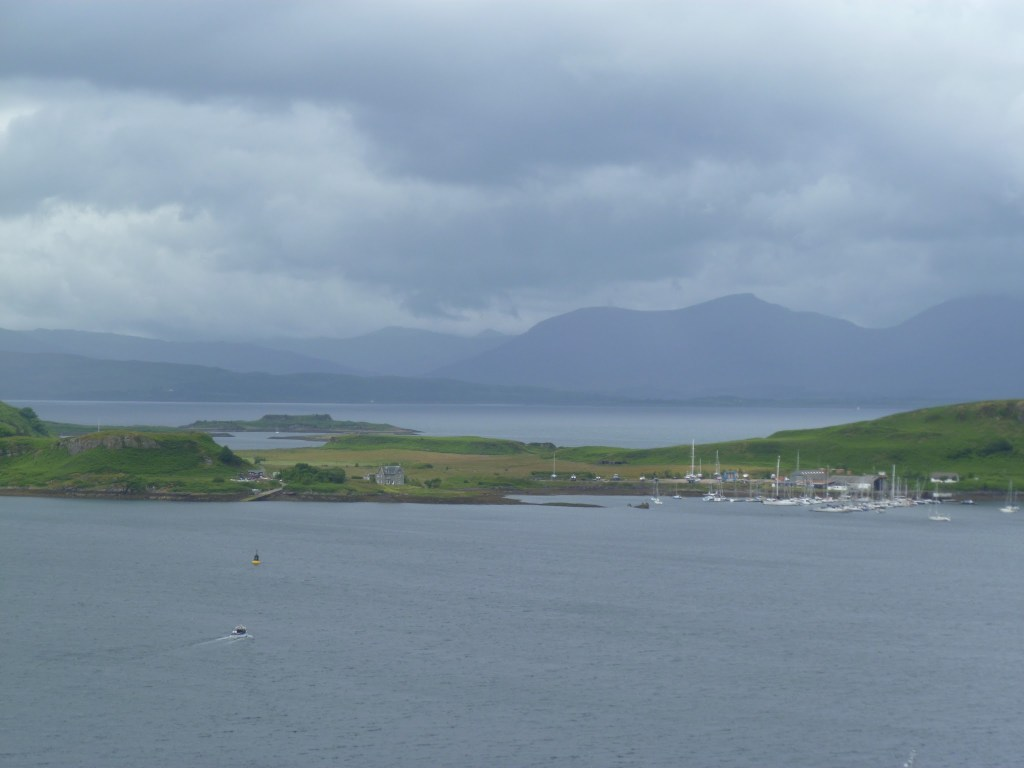 The view over Mull