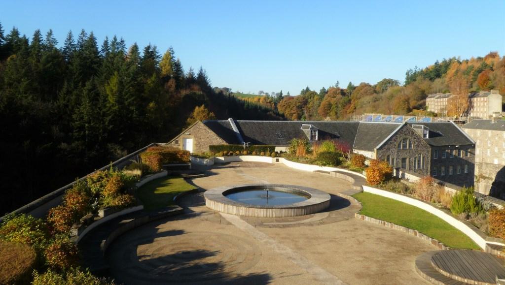Mill 2 Garden, New Lanark