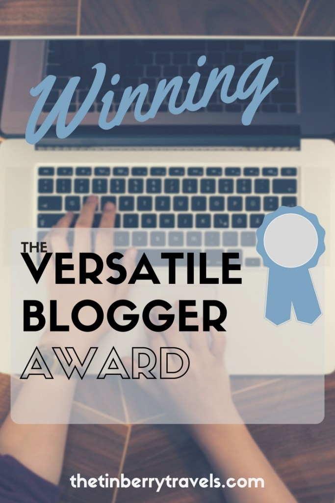 Winning the Versatile Blogger Award - We're excited and honoured to have received a Versatile Blogger Award. In celebration we're sharing some fun facts! you might not know about us!