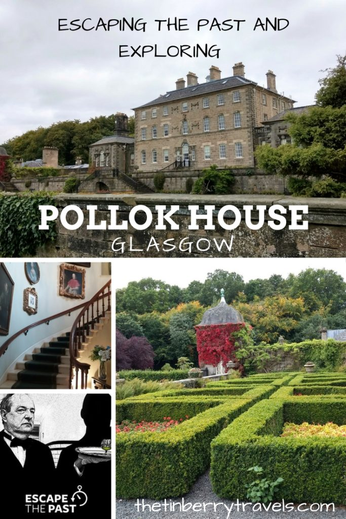 Escaping the Past and Exploring Pollok House - Pollok House, Glasgow is a great day out and now you can add a little extra to the day. We checked out Escaping the Past Pollok House escape room challenge.