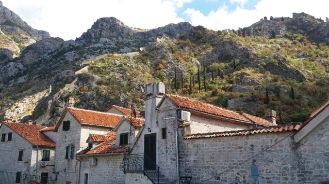 Buildings in Kotor Montenegro