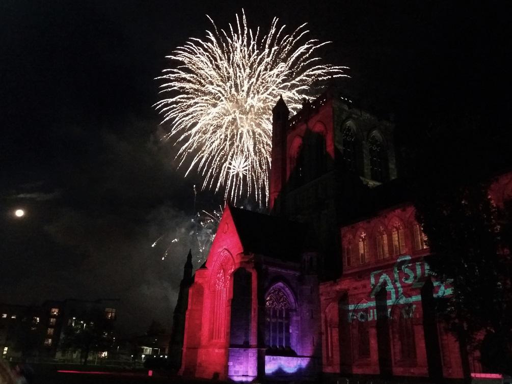 Guy Fawkes Night at Paisley Abbey
