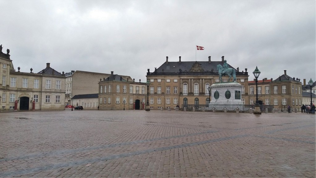Amalienborg Palace Buildings