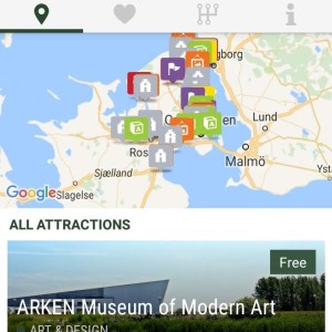 Copenhagen Card App Screenshot
