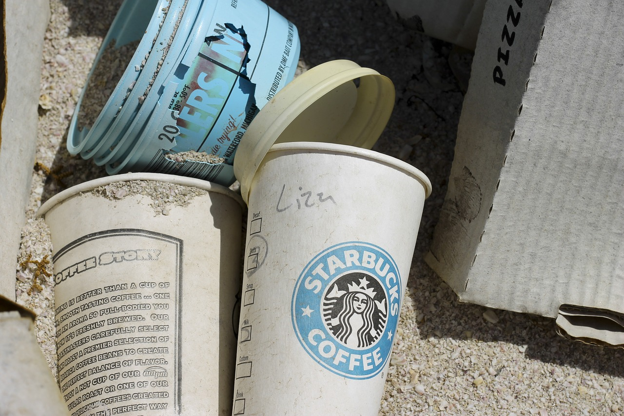 Reduce Environmental Impact Whilst Travelling with less takeaway cups