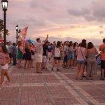 Mallory Square at sunset Key West FL