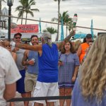 Street performer at Mallory Square Key West FL
