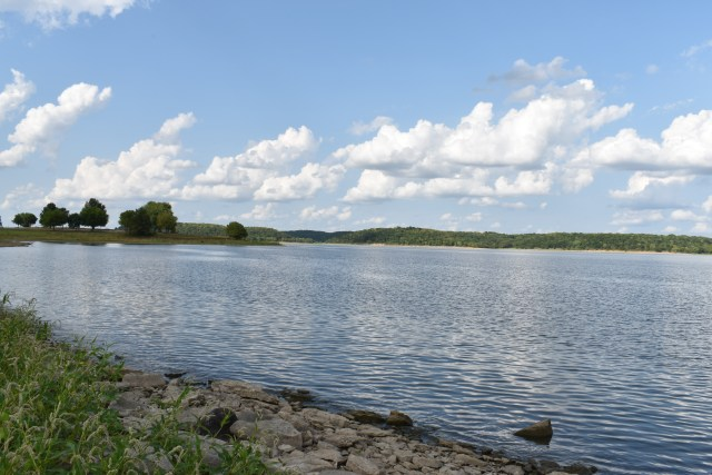 Perry Lake at Perry State Park Kansas