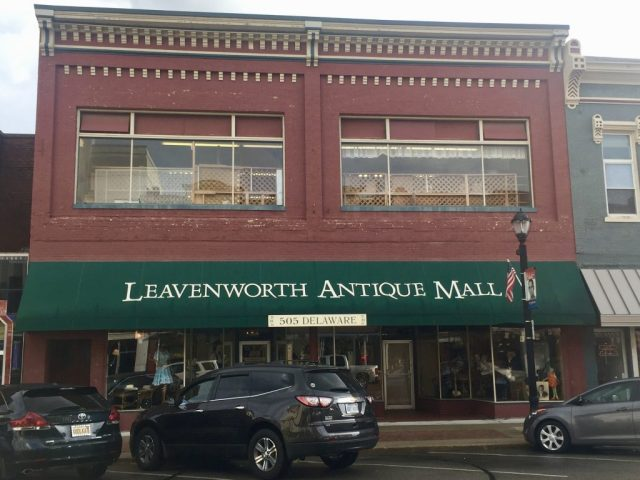 Antique Mall in Historic Downtown Leavenworth Kansas