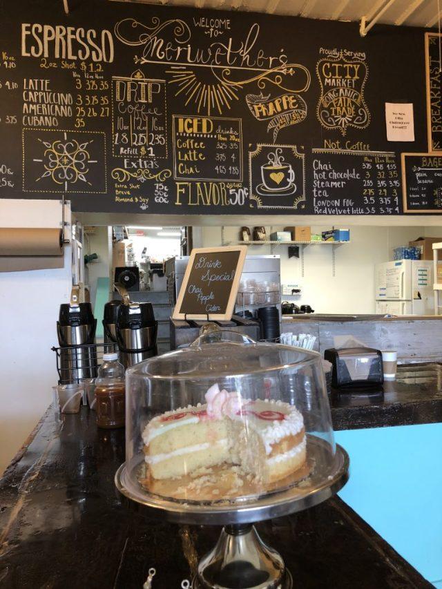Meriwether's coffee shop Leavenworth Kansas