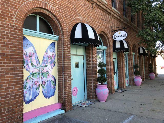 Shops in Historic Downtown Leavenworth Kansas