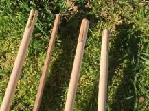 Hardwood nock inserts