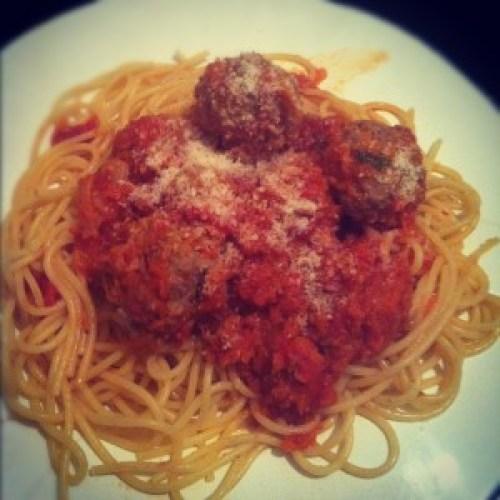 Meatballs alla Tiny Italian