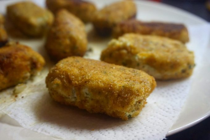 Chicken and ricotta croquettes