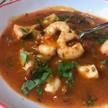 Italian fish seafood soup