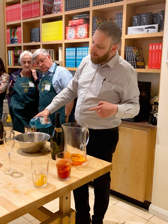 Filippo Berio - cocktail masterclass