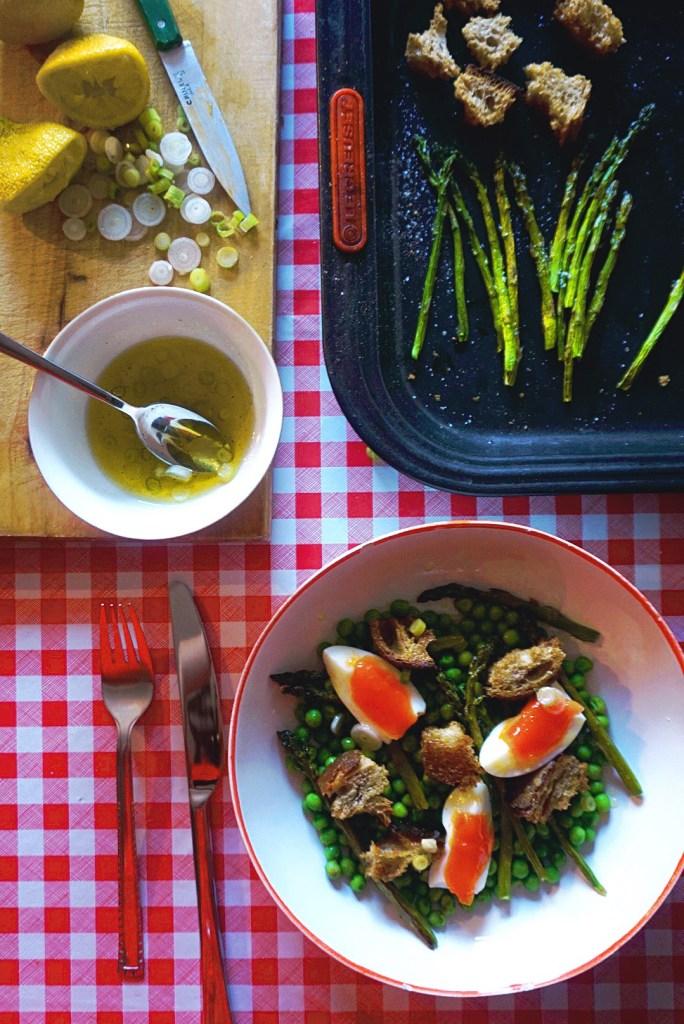 Supper Asparagus & Pea Salad