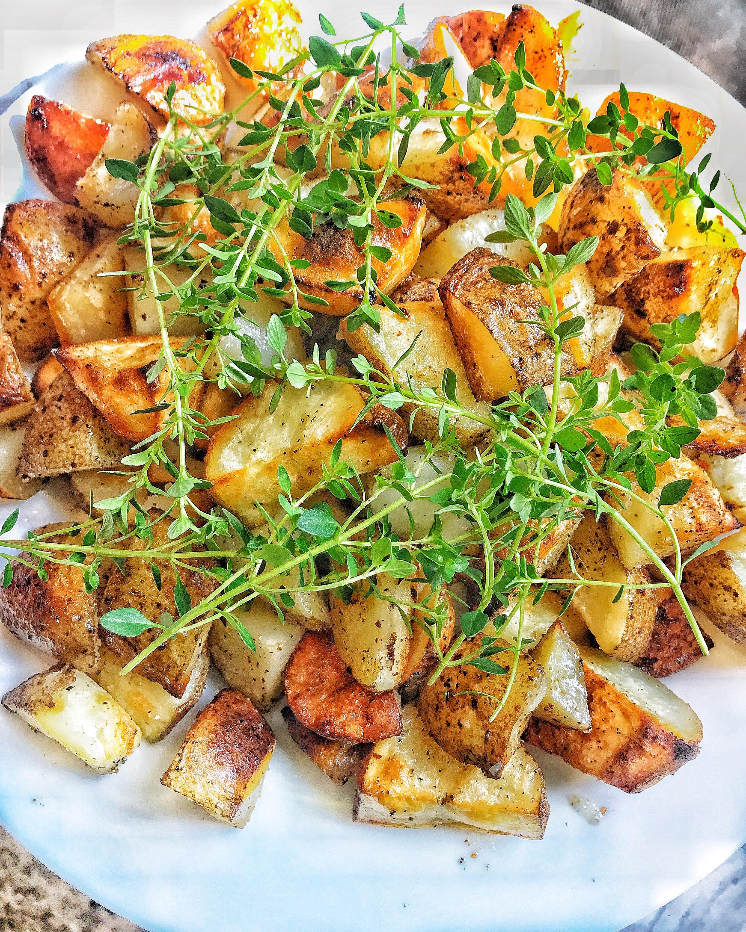 Crispy Russet Potatoes Fried In bacon Fat