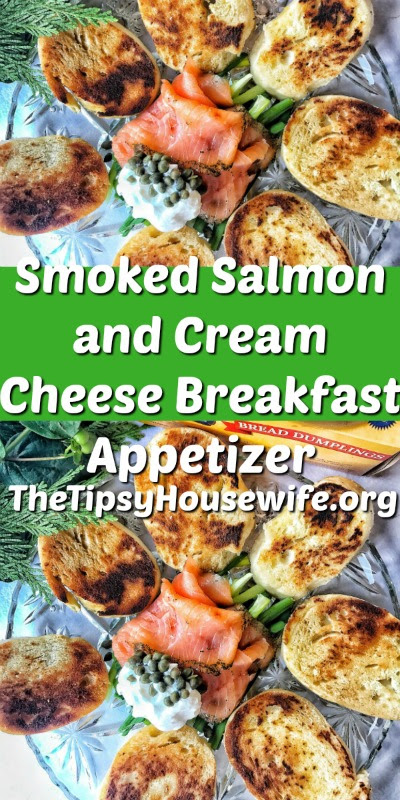 smoked salmon and cremem fraiche