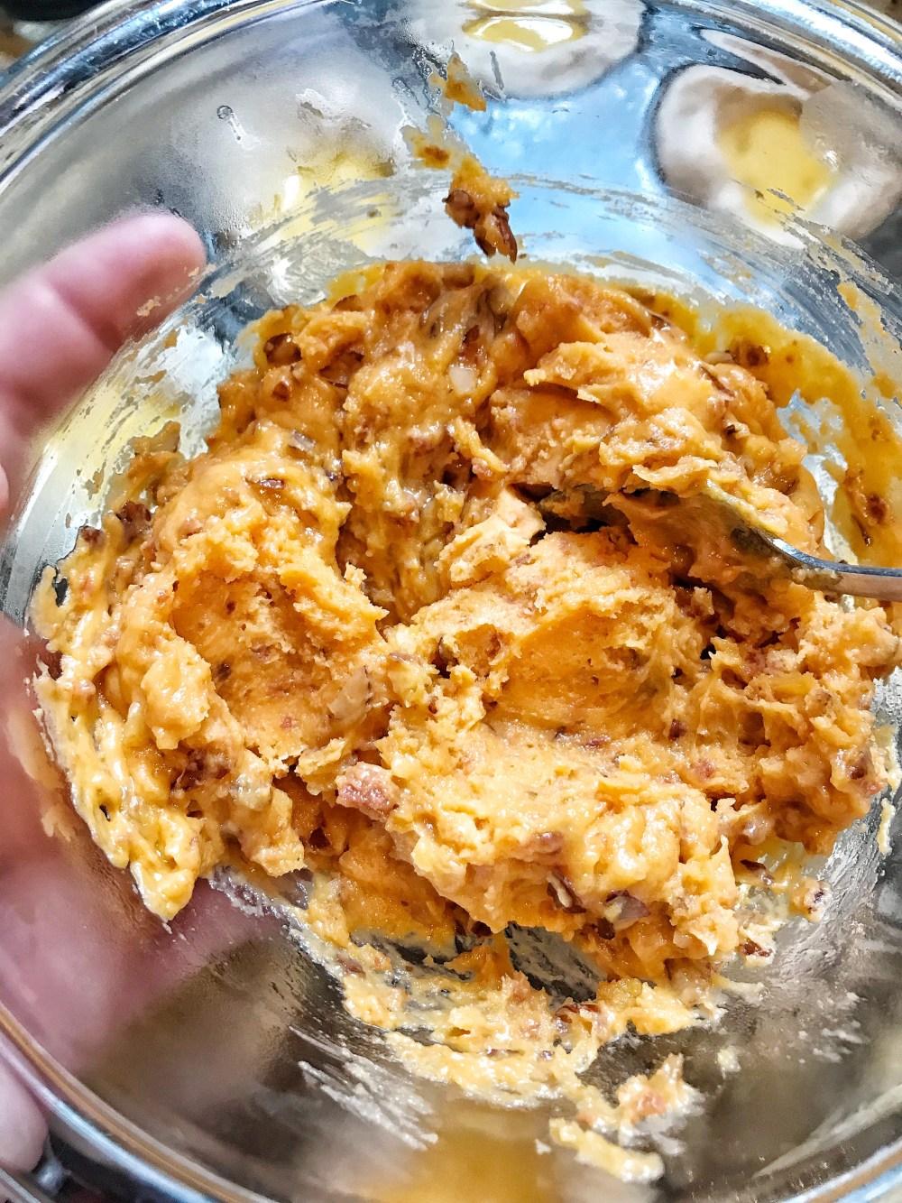 Cheddar Egg Biscuit