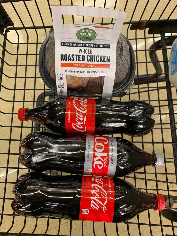 Jewel Chicken and Coca Cola